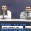 Miner Morning TV, 1-15-19