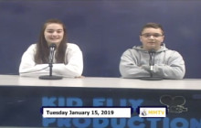 Miner Morning TV, 1-15-19