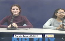 Miner Morning TV, 1-17-19