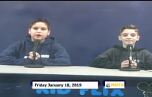 Miner Morning TV, 1-18-19