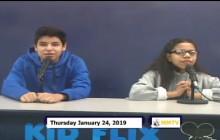 Miner Morning TV, 1-24-19