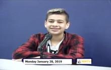 Miner Morning TV, 1-28-19