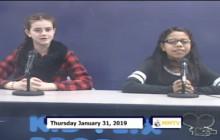 Miner Morning TV, 1-31-19