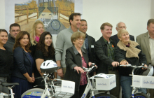 City Debuts Pace Bike Share Program For Iron Horse Trailhead