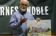 Santa Clarita Artists Association: Glen Knowles Watercolor Demo
