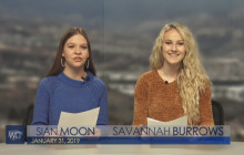 West Ranch TV, 1-31-19   Super Bowl Commercial Interview with Mrs. Garcia
