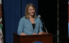 U.S. Congresswoman Katie Hill Sworn in By Community at Saugus High School