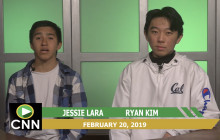 Canyon News Network, 2-20-19 | Boy's Volleyball