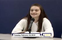 Miner Morning TV, 2-19-19
