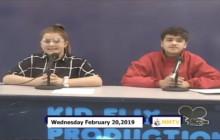 Miner Morning TV, 2-20-19