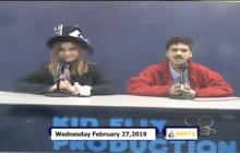 Miner Morning TV, 2-27-19