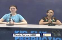 Miner Morning TV, 2-28-19