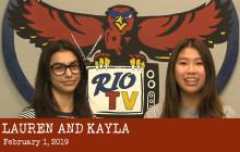 Rio TV, 2-1-19