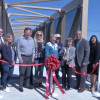 Sierra Highway Pedestrian Bridge Ribbon Cutting