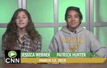 Canyon News Network, 3-12-19 | Club & Senior News