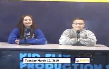 Miner Morning TV, 3-12-19