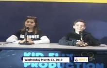 Miner Morning TV, 3-13-19
