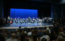 """Saugus High Bands Inaugural Concert at """"The Forum"""""""