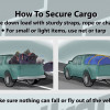 Caltrans News Flash: Properly Securing Truck Loads