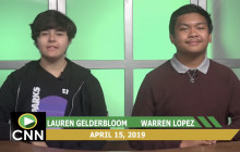 Canyon News Network, 4-15-19 | ASB Officers