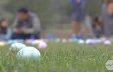 Hundreds of Children Hunt for Eggs at Central Park Over Easter Weekend