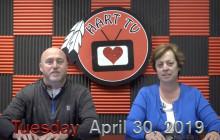 Hart TV, 4-30-19 | Teacher Take-over Tuesday
