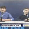 Miner Morning TV, 4-17-19