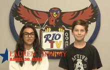 Rio TV, 4-30-19