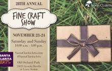 28th Annual Fine Craft Show Vendor Applications Now Available