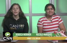 Canyon News Network, 5-13-19 | Club & Event News