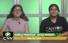 Canyon News Network, 5-30-19 | Miciah Edwards Student Spotlight