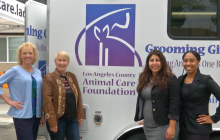 LA County Department of Animal Care and Control Debuts New Mobile Grooming Trailer