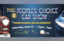 June 15: Rotary's Second Annual People's Choice Car Show