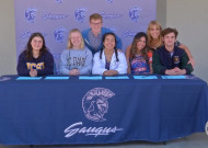Saugus High Soon-to-be Grads Sign Arts College Acceptances