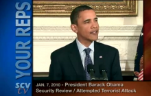 1/7/2010 Security Review on Attempted Terrorist Attack: Remarks by President Barack Obama