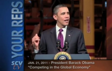 1/21/2011 President Obama: Competing in the Global Economy