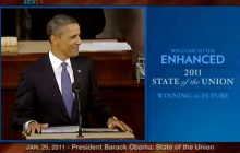 1/25/2011 President Obama: The State of the Union (Enhanced Version)