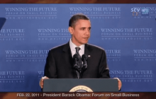 2/22/2011 President Obama: Winning the Future Forum on Small Business