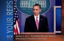 3/2/2011 President Obama on the Shooting in Frankfurt, Germany
