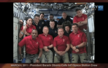 3/4/2011 President Obama Calls the International Space Station