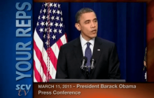 3/11/2011 President Obama: Press Conference: Gas Prices, Japan Quake, Libya