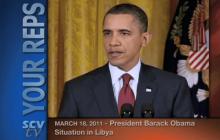 3/18/2011 President Obama: Situation in Libya