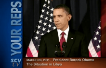 3/28/2011 President Obama: Address to the Nation on Libya