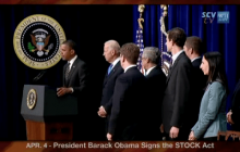 4/4/2012 President Barack Obama  | New Law Bars Congressional Insider Trading