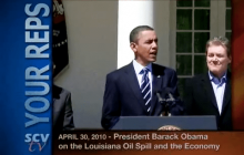 4/30/2010 President Obama on the Louisiana Oil Spill and the U.S. Economy
