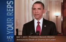 5/1/2011 President Obama Announces Death of Osama Bin Laden
