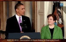 5/10/2010 President Obama on Nomination of Elena Kagan to Supreme Court