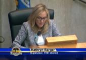 (VIDEO) Supervisor Barger Adjourns Board Meeting in Memory of Carl Boyer III
