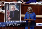 U.S. Congresswoman Katie Hill Gives Remarks On the Passing of Carl Boyer