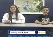 Miner Morning TV, 6-4-19